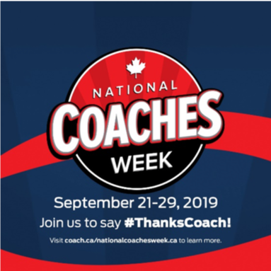 National Coaches Week Sept 21-29