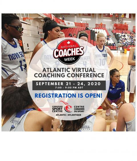 Atlantic Virtual Coaching Conference Registration is open!